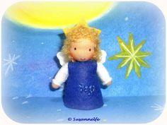Sternzeichen Engel Jungfrau Jahreszeitentisch von Susannelfes Blumenkinder  auf DaWanda.com
