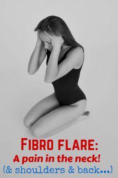 A bad fibromyalgia flare can be incapacitating.
