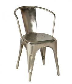 Reminiscent of blue collar 1940's and the WW2 era, these pieces make you feel as if you've rescued a piece of history. | CDI CH1198NC Industrial Style Counter Chair