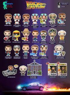 Funko Pop Dolls, Funko Pop Figures, Pop Vinyl Figures, Funko Pop List, Best Funko Pop, The Future Movie, Back To The Future, Alita Movie, Funk Pop