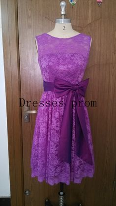 Celia Hey, I found this really awesome Etsy listing at https://www.etsy.com/listing/208232035/purple-bridesmaid-dressshort-lace