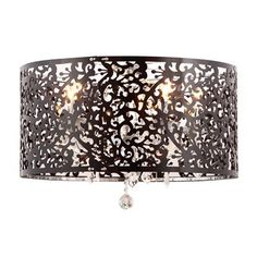 Zuo Modern 50034 5 Light Nebula Flush Mount Ceiling Light, Chrome  Love this for the hallway