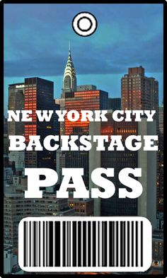 New York City: Backstage Pass