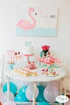 Festa Flamingo, um charme rosa na sua festa!