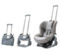 An easy way to get your car seat from the car to the airplane - Cool Mom Picks