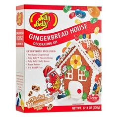 Jelly Belly Mini Gingerbread House Decorating Kit