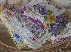 Handkerchiefs of Yesteryear