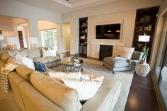 Great Transitional Living Room, Cozy, Traditional, Transitional, Rustic, Glam, Living Room