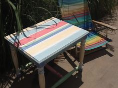 Vintage End Table by OliverBlueCompany on Etsy, $100.00