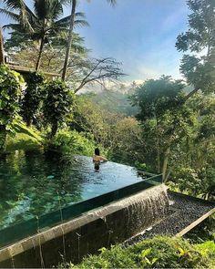 Jungle House, Destinations, Garden Design, House Design, Summer Landscape, Cool Pools, Pool Houses, Amazing Nature, Water Features