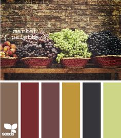 Market Palette - Color combinations