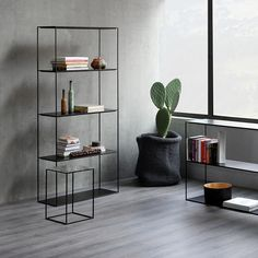 SLIM IRONY rack Image 1++ Filigranes Design, Rack Design, Shelf Design, Interior Design, Drawer Shelves, Shelving, Modern Sideboard, Online Furniture Stores, Furla