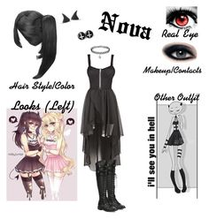 """Nova (OC)"" by anime-loverx on Polyvore featuring Joie"