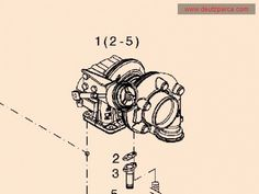 0429 8830 Turbocharger Deutz Engine Parts deutz spare parts Cylinder Liner, Piston Ring, Tractor Parts, Spare Parts, Compass Tattoo, Volvo, Tractors, Engineering, Technology