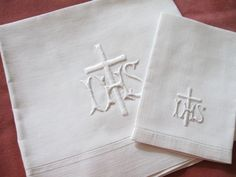 Whitework linens