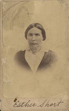 Esther Short :: Clark County Historical Museum Photograph Collection Vancouver Washington, Clark County, Hudson Bay, Military Army, Pacific Northwest, North West, Photograph, Museum, Fotografia