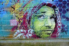 Vitry-sur-Seine - av André Maginot - street art - c215