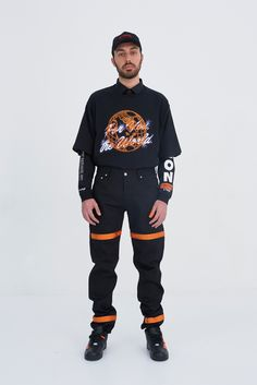 Heron Preston Fall 2017 Menswear Collection - Fashion Unfiltered
