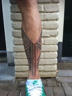 Polynesian samoan tatau inspired by krokohuwae - Tattoo - Tatouage Bein Band Tattoos, Band Tattoos For Men, Tattoo Band, Tattoos For Guys, Half Sleeve Tattoos For Men, Tribal Band Tattoo, Polynesian Leg Tattoo, Polynesian Tattoo Designs, Maori Tattoo Designs