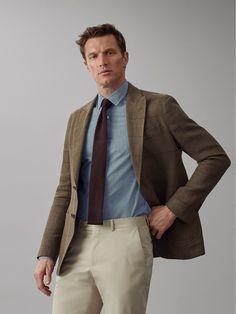 Mens Fashion Suits, Mens Suits, Men's Fashion, Fashion Outfits, Mens Clothing Styles, Men's Clothing, Suit Separates, Blazer Outfits, Linen Blazer