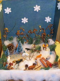 """""""Winter in the Woods"""" Playscape/Sensory Display"""