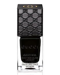 Gucci Makeup Gucci Nail Lacquer, 240 Icon Black
