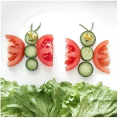 5 Creative And Easy DIY Food Decoration Ideas (food art) Food Crafts, Diy Food, Food Ideas, Kids Crafts, Food Design, Site Design, Toddler Meals, Kids Meals, Cute Food