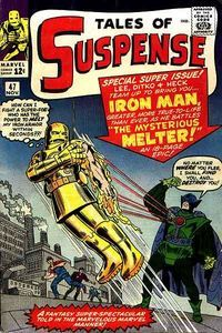 Tales of Suspense (Nov cover by Jack Kirby & George Roussos Marvel Comics Superheroes, Marvel Comic Books, Comic Books Art, Comic Art, Dc Comics, Marvel Vs, Book Art, Vintage Comic Books, Vintage Comics