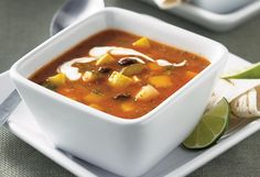 Spicy Roasted Vegetable Soup