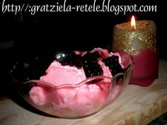 Inghetata de zmeura (de iarna), Rețetă de Gratziela - Petitchef Parfait, Mousse, Bacon, Cupcake, Deserts, Frozen, Ice Cream, Fancy, Food