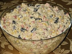 Sałatka hit przyjęcia - zdjęcie 2 Polish Recipes, Polish Food, Potato Salad, Oatmeal, Food And Drink, Rice, Cheese, Cooking, Breakfast