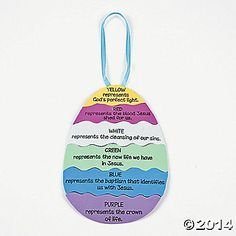 """Colors of Faith"" Egg Craft Kit"