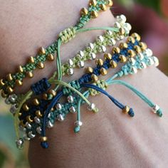 beaded macrame bracelet video tutorial