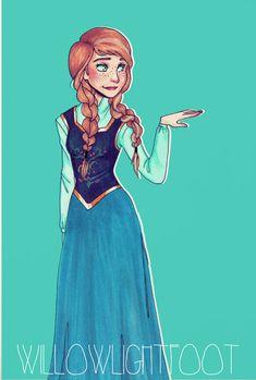Anna by WillowLightfoot on deviantART
