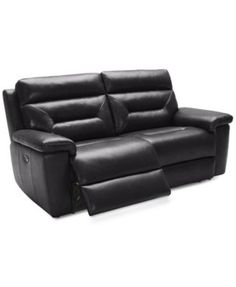 Quinton 2-Piece Leather Reclining Sofa   macys.com