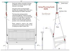 Installing your Front Porch Swing