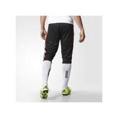 adidas Mexico Three-Quarter Training Pants ($45) ❤ liked on Polyvore featuring men's fashion, men's clothing, men's activewear, men's activewear pants and adidas