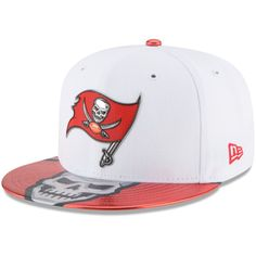 Tampa Bay Buccaneers New Era 2017 NFL Draft Official On Stage 59FIFTY Fitted  Hat - White 2fe37fd66