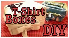 DIY T-SHIRT BOXES