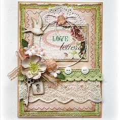 Such a Pretty Mess: Websters Pages Projects & My NovelTree! by katrina Card Creator, Websters Pages, Shabby Chic Cards, Ideas Geniales, Beautiful Handmade Cards, Artist Trading Cards, Love Cards, Pretty Cards, Card Sketches