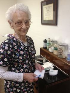 90 year old nurse who still works