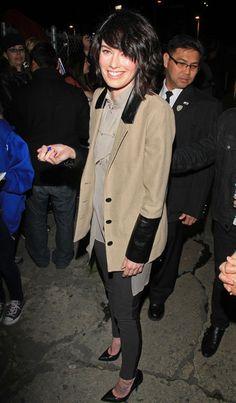 Lena Headey Photos - Lena Headey Out in Hollywood - Zimbio