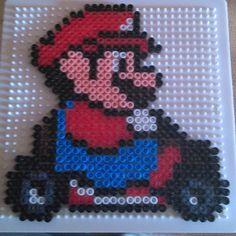 Mario kart hama beads by cincia96