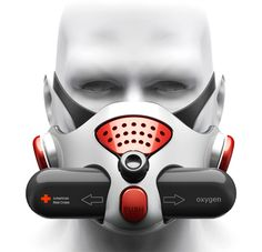 Fire Relief Respirator Prevents You From Inhaling Poisonous Smokes – Tuvie Futuristic Technology, Technology Gadgets, Breathing Mask, Future Fashion, Tactical Gear, Mask Design, Survival Gear, Fire, Cool Stuff