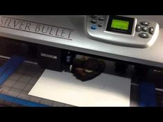 Silver Bullet Print and Cut #2 - YouTube