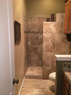 Master bathroom remodel shower bathtub wet rooms Ideas for 2019 Master Bathroom Shower, Bathroom Layout, Bathroom Interior Design, Small Bathroom, Vanity Bathroom, Diy Bathroom Remodel, Shower Remodel, Budget Bathroom, Tile Ideas
