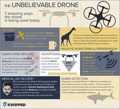 7 excelentes usos para los drones, ninguno letal