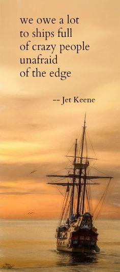 Tanka poem : we owe a lot -- by Jet Keene.