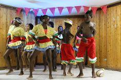La representación de danza de Riosucio