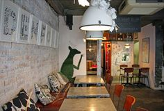 Cafe Fika, Shoreditch by AnneLiWest|BerlinLondon Diary
